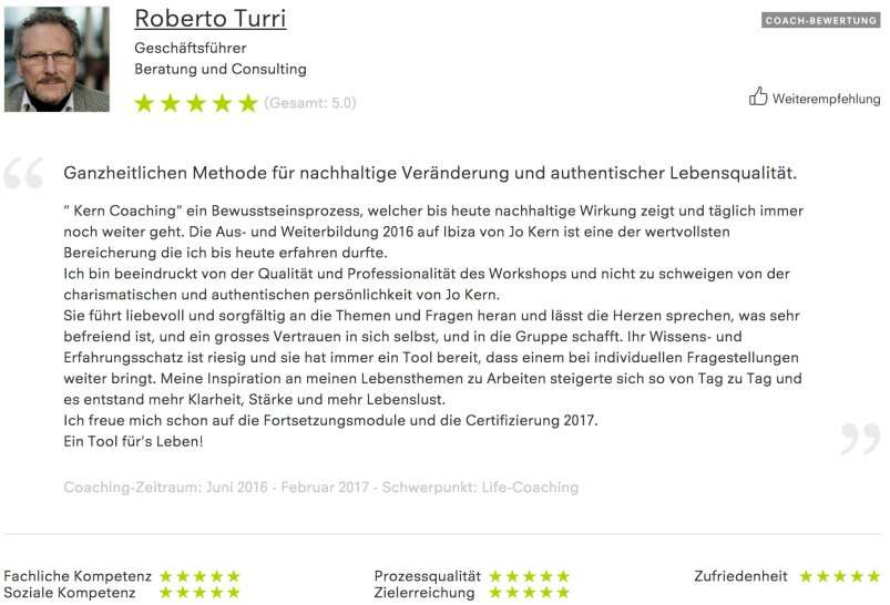 Kern-Coaching-RobertoTurri-Feedback