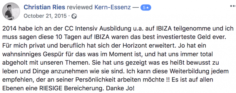 Kern-Coaching-Ausbildung-ChristianRies-Feedback