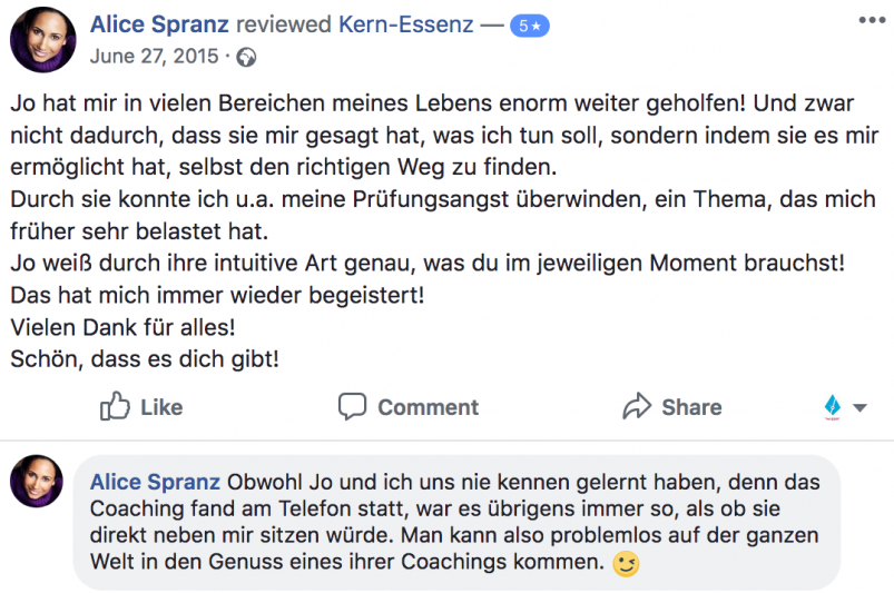 Kern-Coaching-AliceSpranz-Feedback